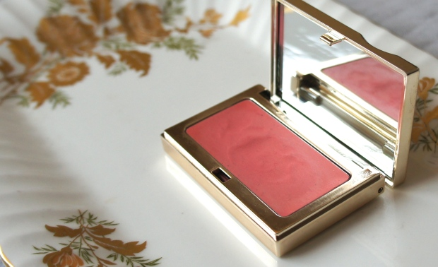 Warming up the (face!) cheeks. Clarins Multi-Blush in Candy.