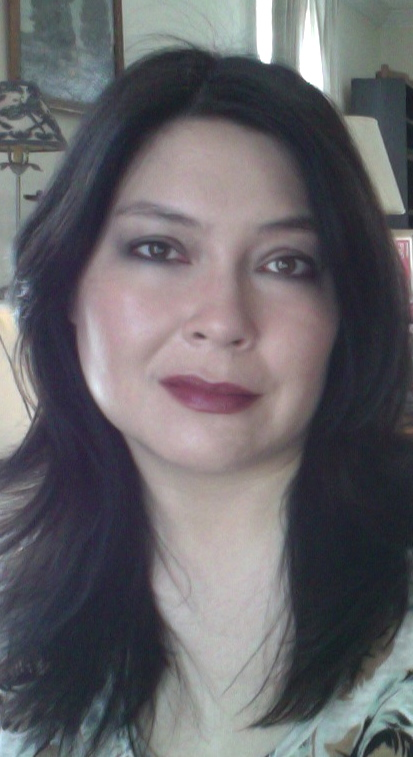 Basic face with Chanel Rouge Allure gloss (recently reformulated) in Controversy.